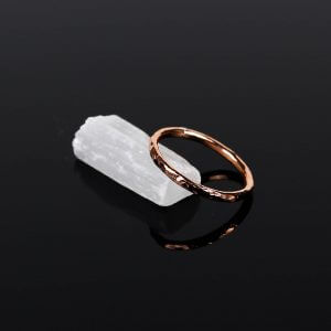 Hammered-Copper-Ring