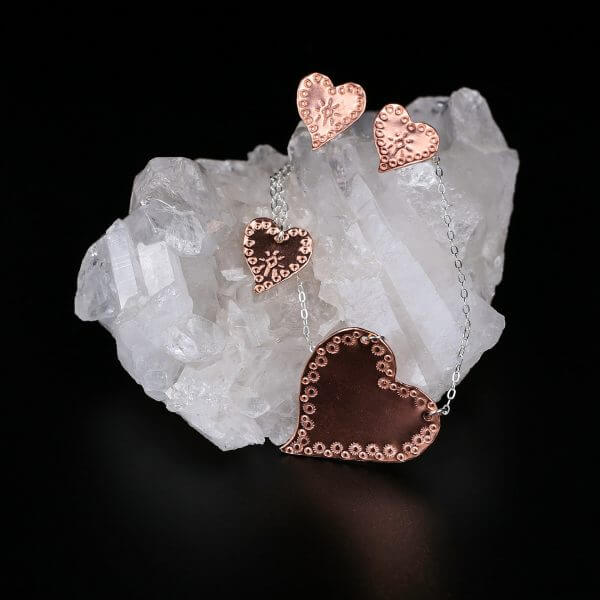 Copper-Heart-Earring-Collection