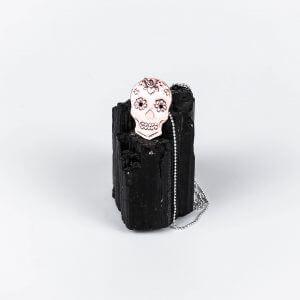 Large-Copper-Sugar-Skull-Necklace