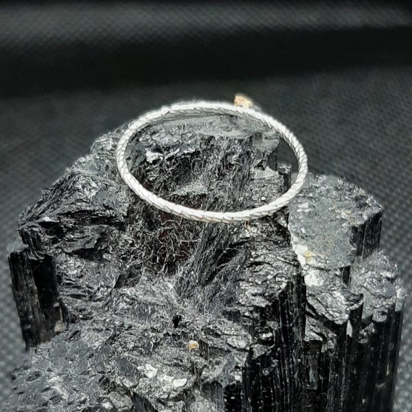 silver diamond cut
